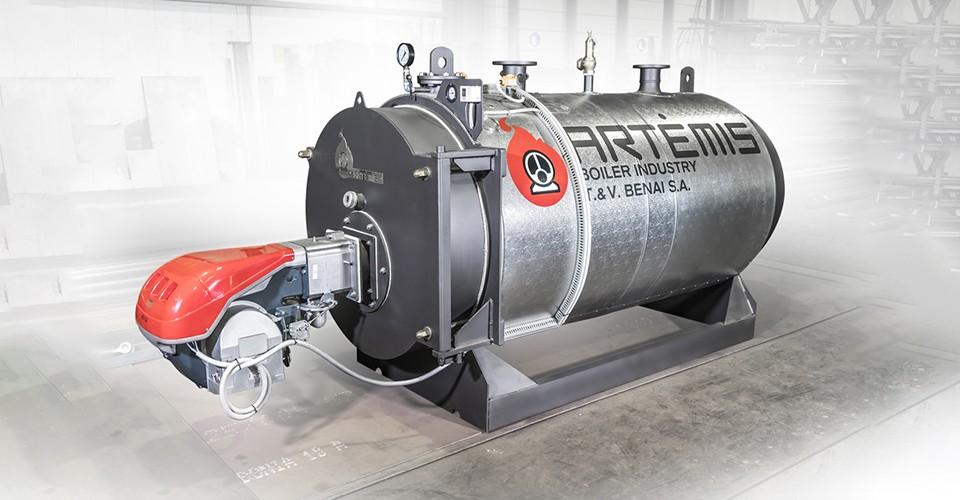 Λέβητας υπέρθερμου νερού PRN/HW 750 στην VIGLA - ΗΠΕΙΡΟΣ ΑΕΒΕ